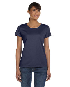 Wholesale Fruit of the Loom L3930R Ladies' 5 oz. HD Cotton™ T-Shirt - J NAVY