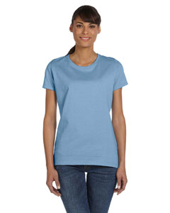 Wholesale Fruit of the Loom L3930R Ladies' 5 oz. HD Cotton™ T-Shirt - LIGHT BLUE