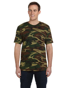 LS3906 Adult Camouflage T-Shirt