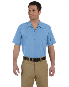 LS535 Men's 4.25 oz. Industrial Short-Sleeve Work Shirt