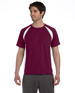 M1004 Unisex Colorblocked Short-Sleeve T-Shirt