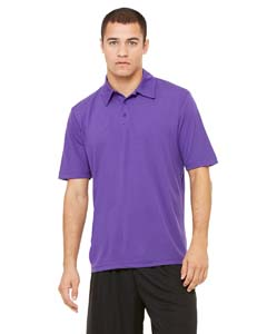 M1709 Unisex Performance Three-Button Mesh Polo
