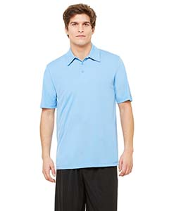 M1809 Unisex Performance Three-Button Polo