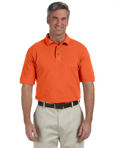 M200 Men's 6 oz. Ringspun Cotton Piqué Short-Sleeve Polo