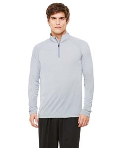 Wholesale All Sport M3006 Unisex Quarter-Zip Lightweight Pullover - ATHLETIC HEATHER
