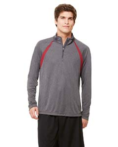M3026 Unisex Quarter-Zip Lightweight Pullover with Insets