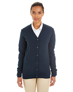 M425W Ladies' Pilbloc™ V-Neck Button Cardigan Sweater