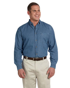 M550 Men's 6.5 oz. Long-Sleeve Denim Shirt