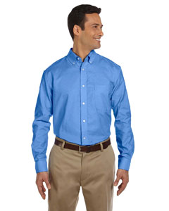 M600 Men's Long-Sleeve Oxford with Stain-Release