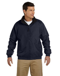 M740 Adult Fleece-Lined Nylon Jacket