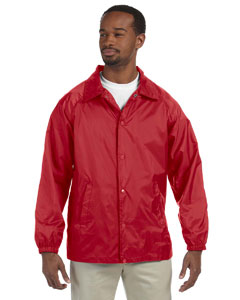 Wholesale Harriton M775 Adult Nylon Staff Jacket - RED