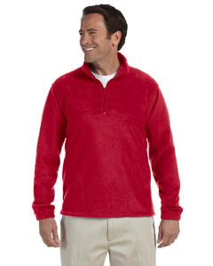 M980 Adult 8 oz. Quarter-Zip Fleece Pullover