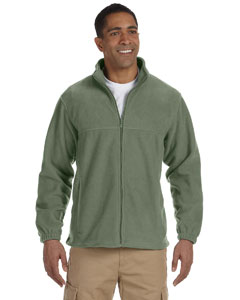 Wholesale Harriton M990 Men's 8 oz. Full-Zip Fleece - DILL