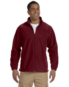 M990 Men's 8 oz. Full-Zip Fleece