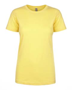 Wholesale Next Level N1510 Ladies' Ideal T-Shirt - BANANA CREAM