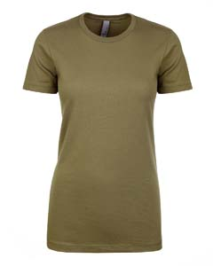Wholesale Next Level N1510 Ladies' Ideal T-Shirt - MILITARY GREEN