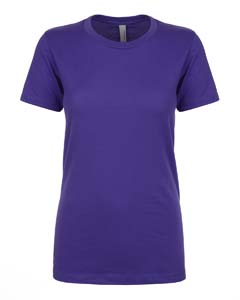 Wholesale Next Level N1510 Ladies' Ideal T-Shirt - PURPLE RUSH