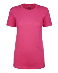 Wholesale Next Level N1510 Ladies' Ideal T-Shirt - RASPBERRY