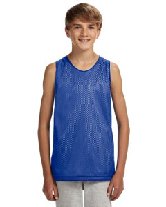 N2206 Youth Reversible Mesh Tank Top