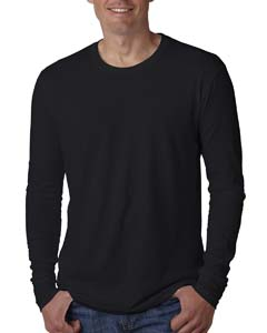 N3601 Men's Cotton Long-Sleeve Crew