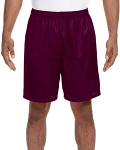 N5293 Adult Seven Inch Inseam Mesh Short