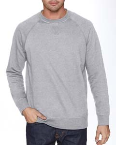 N9000 Adult French Terry Raglan Crew