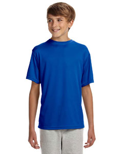 NB3142 Youth Short-Sleeve Cooling Performance Crew