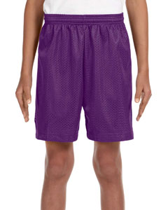 NB5301 Youth Six Inch Inseam Mesh Short