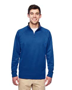 PF95MR Adult 6 oz. DRI-POWER® SPORT Quarter-Zip Cadet Collar Sweatshirt