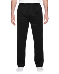 PF974MP Adult 6 oz. DRI-POWER® SPORT Pocketed Open-Bottom Sweatpants