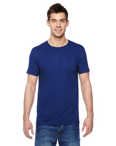 Wholesale Fruit of the Loom SF45R Adult 4.7 oz. Sofspun® Jersey Crew T-Shirt - ADMIRAL BLUE