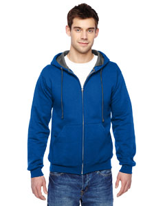 SF73R Adult 7.2 oz. Sofspun® Full-Zip Hooded Sweatshirt