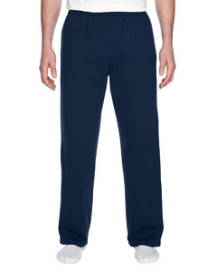SF74R Adult 7.2 oz. Sofspun® Open-Bottom Pocket Sweatpants