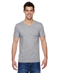 SFVR Adult 4.7 oz. Sofspun® Jersey V-Neck T-Shirt