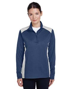 TT26W Ladies' Excel Mélange Interlock Performance Warm-up