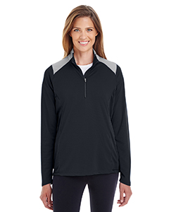 TT27W Ladies' Command Colorblock Snag-Protection Quarter-Zip