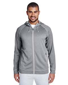TT38 Men's Excel Mélange Performance Fleece Jacket