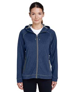 TT38W Ladies' Excel Mélange Performance Fleece Jacket