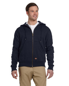 TW382 Men's 470 Gram Thermal-Lined Fleece Hooded Jacket