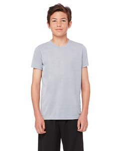 Wholesale All Sport Y1009 Youth Performance Short-Sleeve T-Shirt - ATHLETIC HEATHER