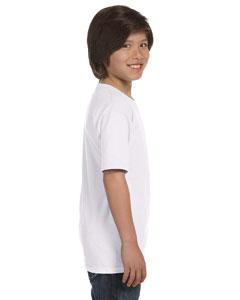 e85a2f1f Blank Hanes 5480 Youth 5.2 oz. ComfortSoft® Cotton T-Shirt in Color ...