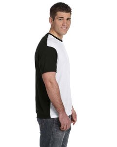 513b7fd1 S1902 Sublivie Adult SubliVie Adult Blackout Sublimation Polyester T-Shirt